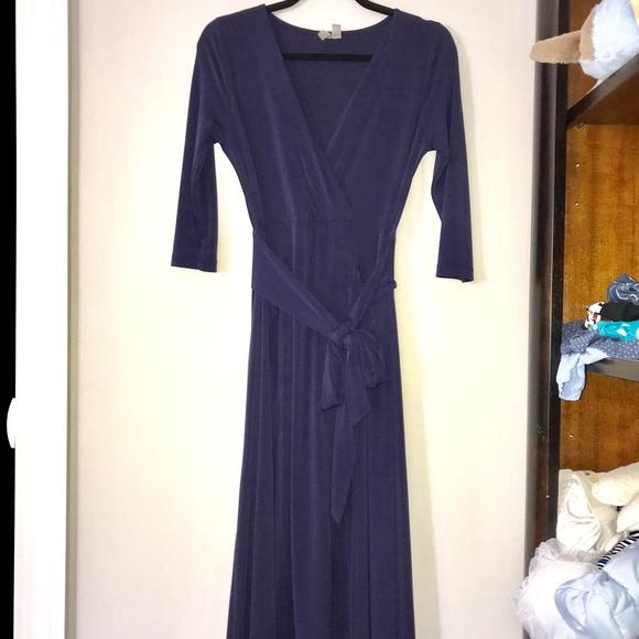 98378774ebc ASOS Dresses   Skirts - Navy blue wedding guest maxi dress